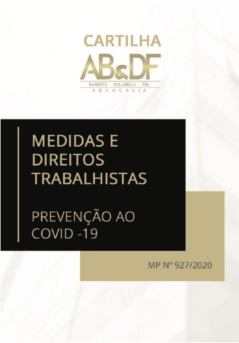 Medidas e Direitos Trabalhistas – Prevenção ao COVID-19