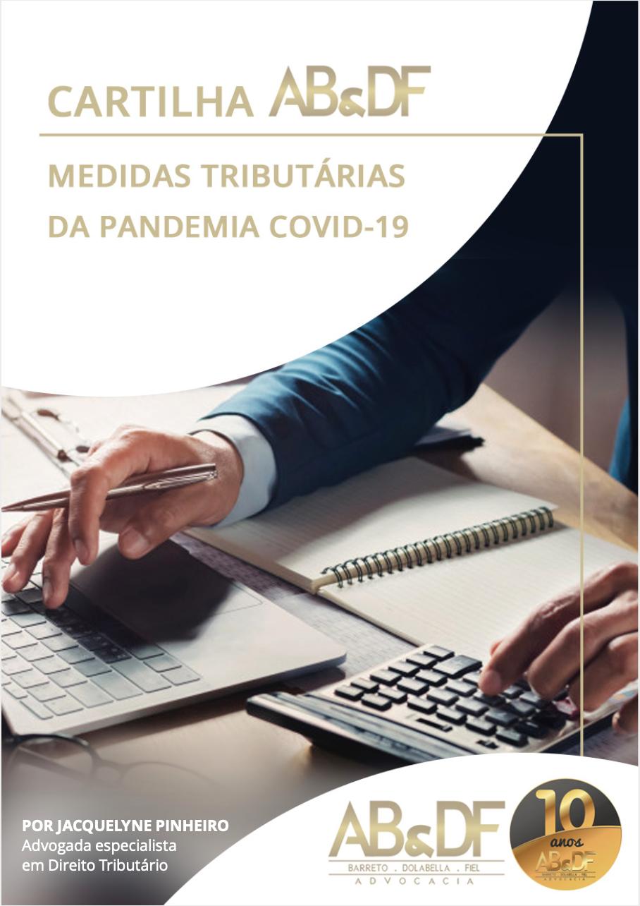 Cartilha: Medidas Tributárias da Pandemia COVID-9