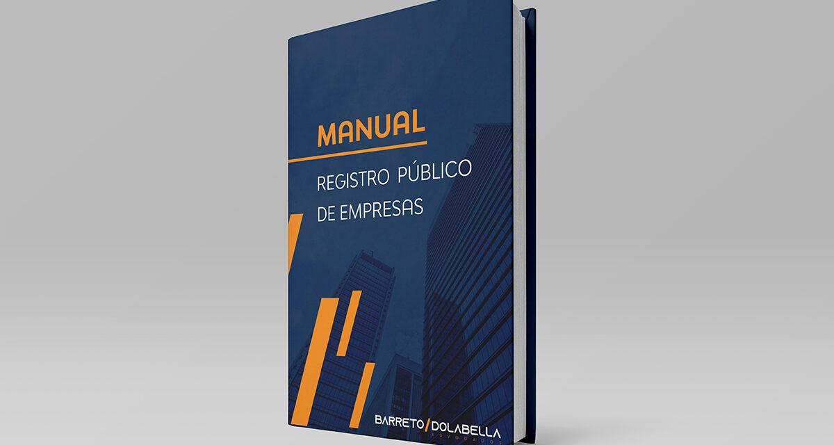 MANUAL: REGISTRO PÚBLICO DE EMPRESAS