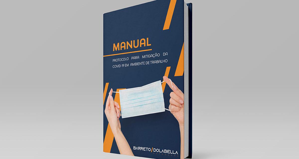 MANUAL: PROTOCOLO PARA MITIGAÇÃO DA COVID-19 EM AMBIENTE DE TRABALHO